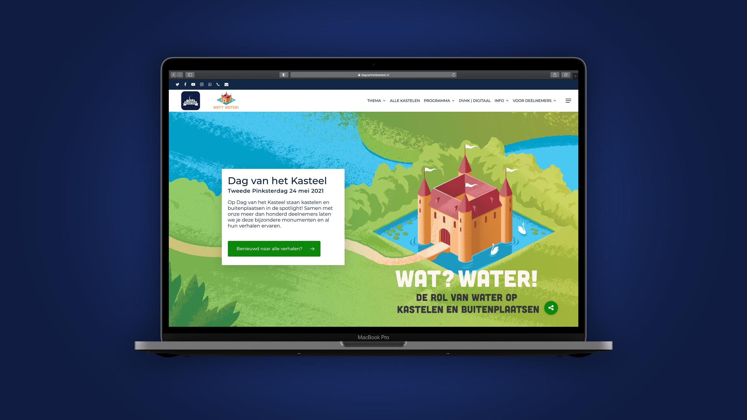 Dag van het Kasteel heeft een nieuwe website!