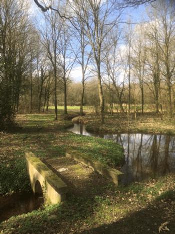 Breckelenkamp, aanvoer water, foto archief Huis te Breckelenkamp