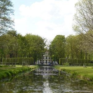 Vanenburg zichtas waterpartij