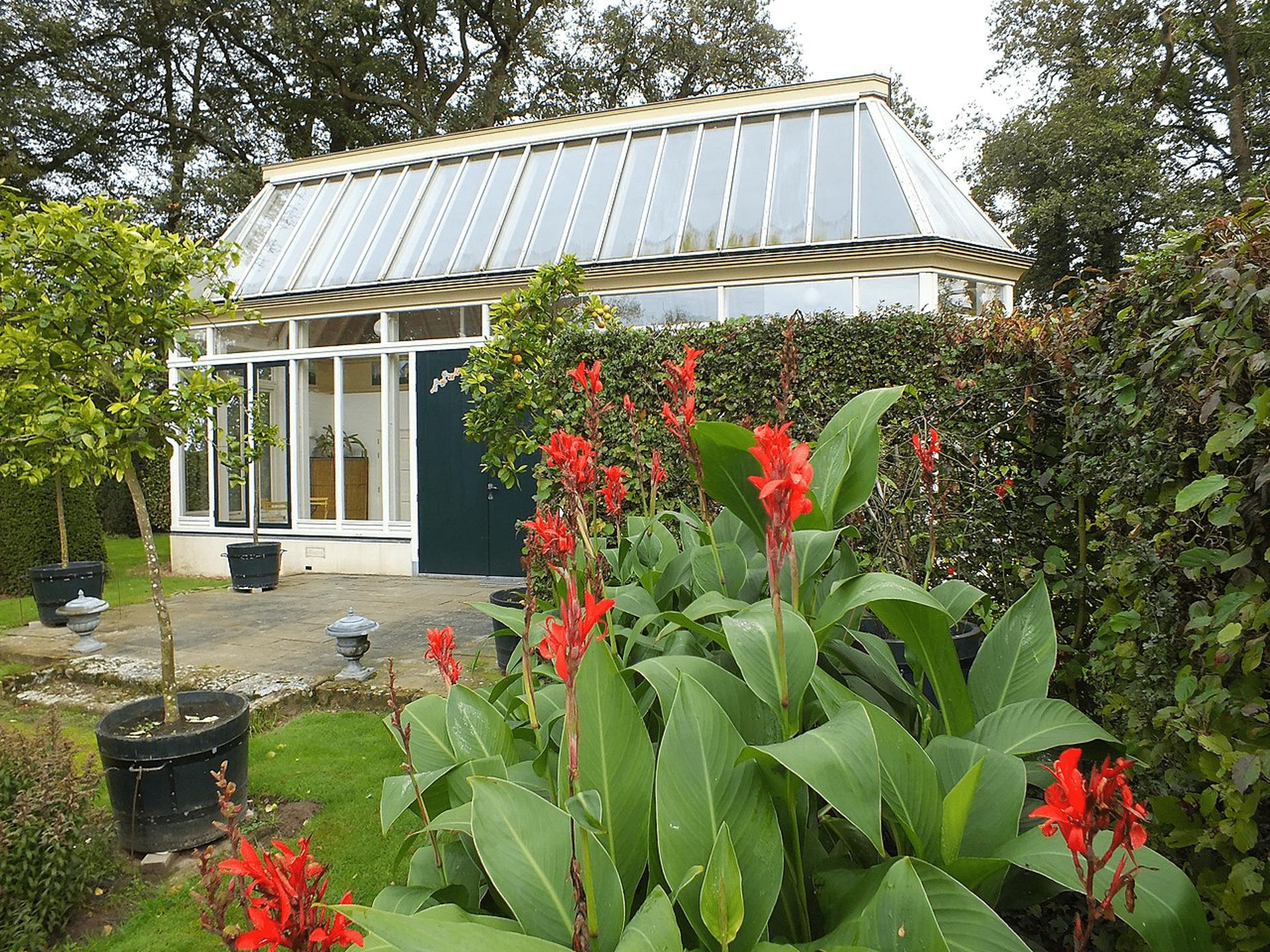 Oranjerie, foto archief Huis te Breckelenkamp